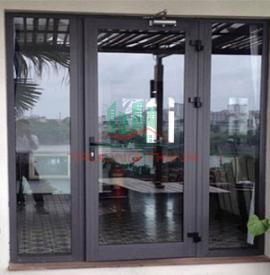 Cửa Sổ Mở Quay 1 Cánh Nhôm Xingfa Nhập Khẩu Chất Lượng 100%